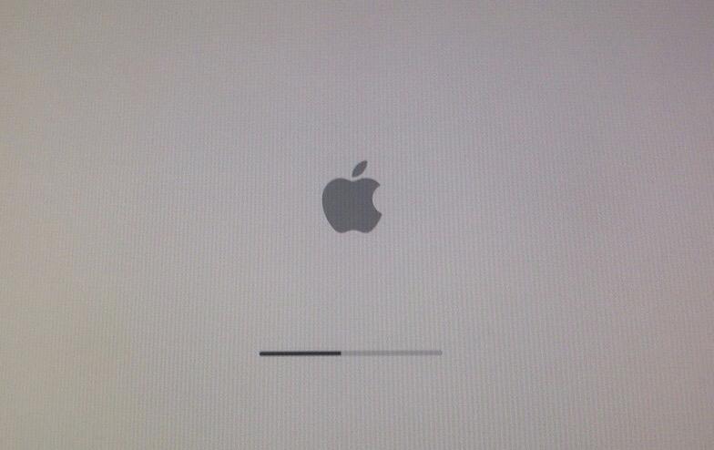 Barra di caricamento del Mac